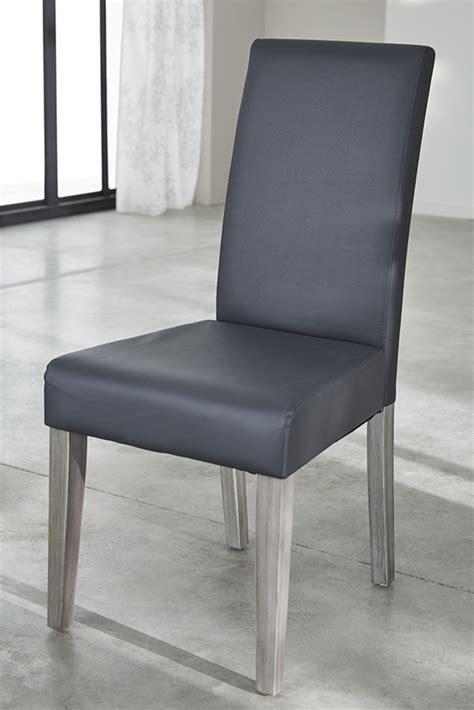 chaise de salle a manger grise chaise namur gris