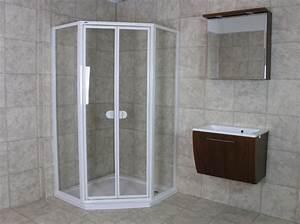 Hüppe Duschabtrennung Montageanleitung : h ppe f nfeck duschabtrennung glas dusche duschkabine eckeintieg 100x100 esg ebay ~ Orissabook.com Haus und Dekorationen