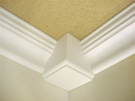 crown molding  corner blocks crown molding