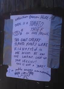 funny neighbors notes left neighbor hilarious signs note sign angry tomatoes giggle vitamin ha smile wsbtv things awesomeinventions