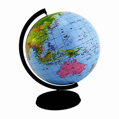 Globe Transparent Stand Earth Background Travel Clipart