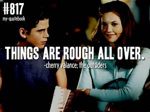 Cherry Valance and Ponyboy Curtis | the outsiders ...