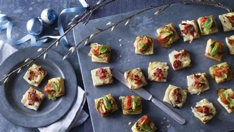 puff pastry canapes ideas food canapés recipes