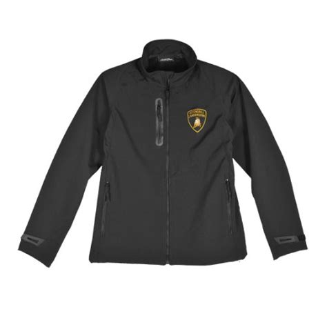 Lamborghini Men's Racing Team Softshell Zipup Jacket