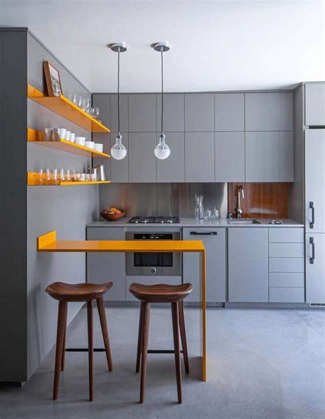 piccole mensole 1001 idee per cucine moderne piccole soluzioni di design