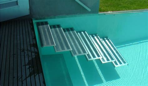 pool treppe nachrüsten swimmingpool treppe aqua blue team ag