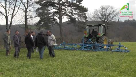 chambre agriculture cantal vidéo herse étrille sur céréales