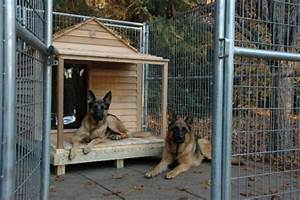 Free dog house building plan large dog house for Dog house for german shepherd size