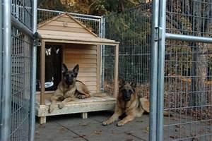 free dog house building plan large dog house With german shepherd dog house size