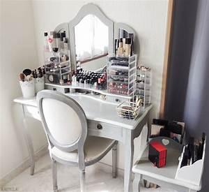 Rangement De Maquillage : mon rangement makeup pratique beaut cr ola le blog ~ Melissatoandfro.com Idées de Décoration