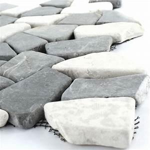 Mosaik Fliesen Schwarz : marmor bruch mosaik fliesen schwarz weiss 1 matte ~ Eleganceandgraceweddings.com Haus und Dekorationen