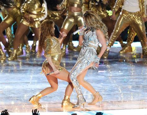 Jennifer Lopez And Shakira Deliver Sexy Super Bowl Halftime