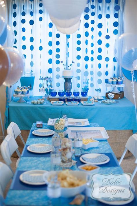 Ocean Theme Party For Kids Girl Baby Shower Octonauts