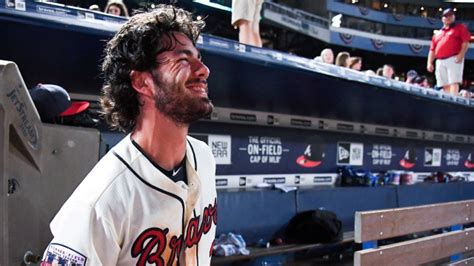 braves rookie dansby swanson  drilled  groin
