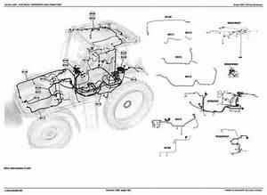 Deer 6100d  6110d  6115d  6125d  6130d Tractors Diagnosis