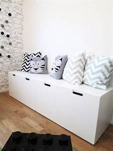 Rangement Ikea Chambre : meuble rangement enfant ikea stuva ~ Teatrodelosmanantiales.com Idées de Décoration