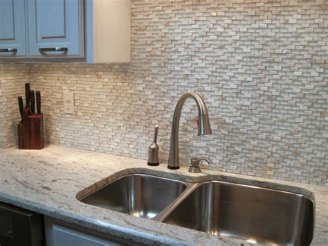 Seashell Tile Backsplash : Eden Mosaic Tile Brick Pattern Cloud White Glass With