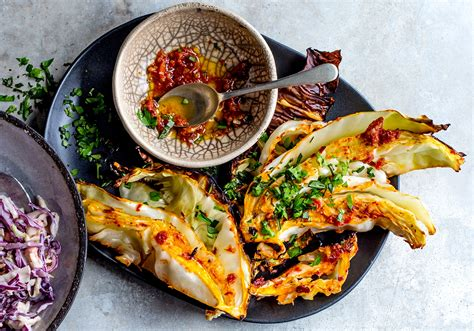 spicy roasted cabbage wedges real meal revolution