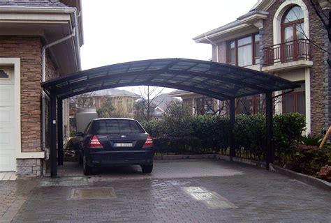 Bernstein Carport Aluminium Pulverbeschichtet 5400 X 2700