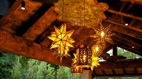 Outdoors Lanterns : Outdoor Hanging Lamps, Wrought Iron Outdoor Light Fixtures