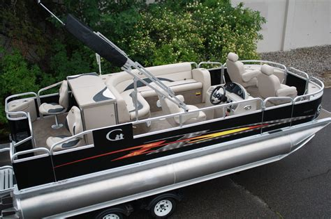 Tritoon Boat Companies by Tahoe 20 Fnf Tritoon Boat For Sale From Usa