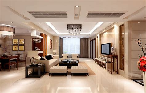 Ceiling Partition For Living Room And Dining Room  Rich