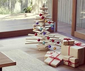 Deko Weihnachtsbaum Holz : schnelle weihnachtsbastelideen christbaum selber machen ~ Watch28wear.com Haus und Dekorationen