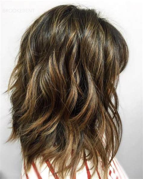 80 sensational medium length haircuts for thick hair in 2019