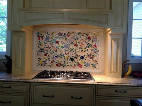 tile murals kitchen glass mosaic floral mural designer glass mosaics 2769