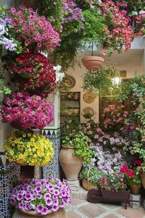 functional patio garden ideas patio flowers garden