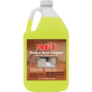 deck  fence cleaner gallon