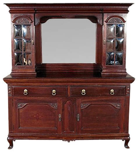 antique sideboards with mirrors shop houzz antiques antique solid mahogany 4131