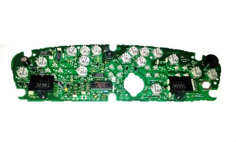 Dodge Plymouth Neon Instrument Cluster Circuit Board