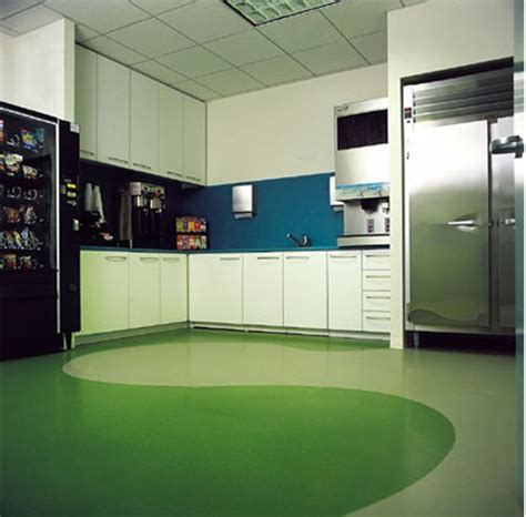 rubber tiles for kitchen modern kitchen with rubber flooring home ideas 4940