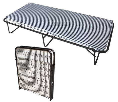compact single beds foxhunter single metal folding guest visitor compact bed