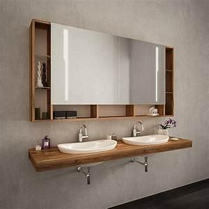 Bad Spiegelschrank Beleuchtet : bad spiegelschrank mit beleuchtung online kaufen ~ Frokenaadalensverden.com Haus und Dekorationen