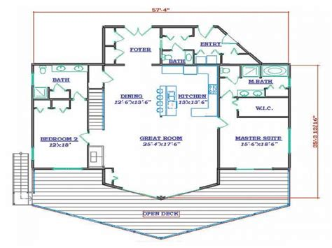 small lake house floor plans hawaiian small house flooring