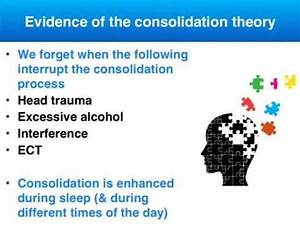 Consolidation theory (for memory) - VCE Psychology - YouTube