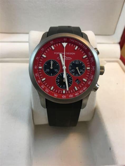 Porsche Design Red Limited Edition Ref Ptc 911