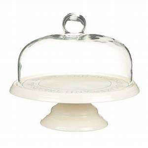 Cloche à Gateau : kitchen craft classic collection ceramic cake stand with glass dome by kitchencraft http www ~ Teatrodelosmanantiales.com Idées de Décoration