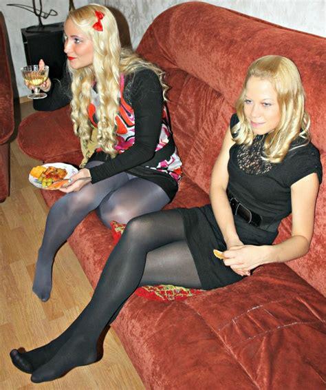 Nice Girls In Pantyhose