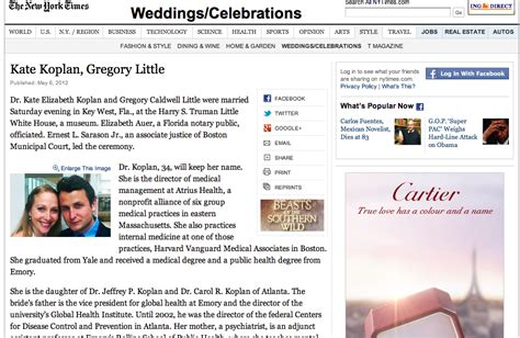 A Swankey Wedding Makes The New York Times