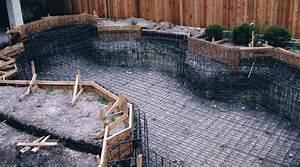 prix d39une piscine enterree tarif moyen cout de With cout de construction d une piscine