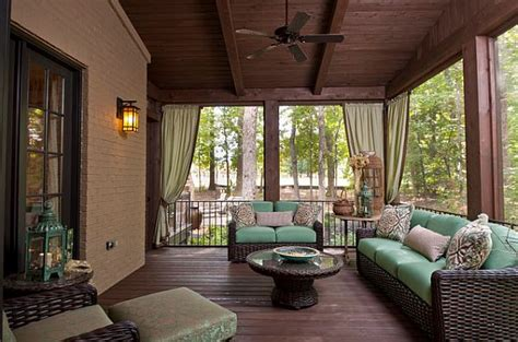 screened porch ideas beautiful outdoor fencing that wins both privacy and peers