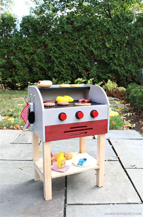 ana white kids wood play toy grill diy projects