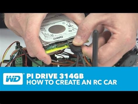 wd pidrive 314gb how to create a rc car with raspberry pi