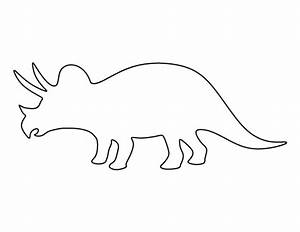 triceratops pattern use the printable pattern for crafts With dinosaur templates to print