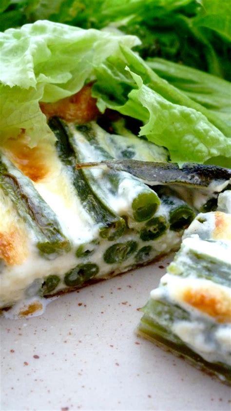 sauge en cuisine tarte de haricots verts à la sauge cuisine de tous les jours