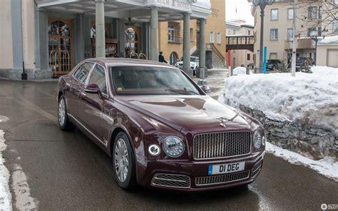 Bentley Mulsanne 2016  19 February 2018 Autogespot