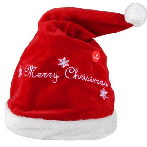 animated christmas hats animated musical moving jingle bells novelty santa hat